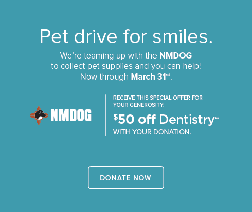 NMDOG Pet Drive - Albuquerque Modern Dentists
